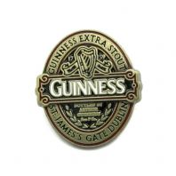Guinness 'Ruby Red' Metal Lapel Pin Badge Classic Collection Label Design 5617